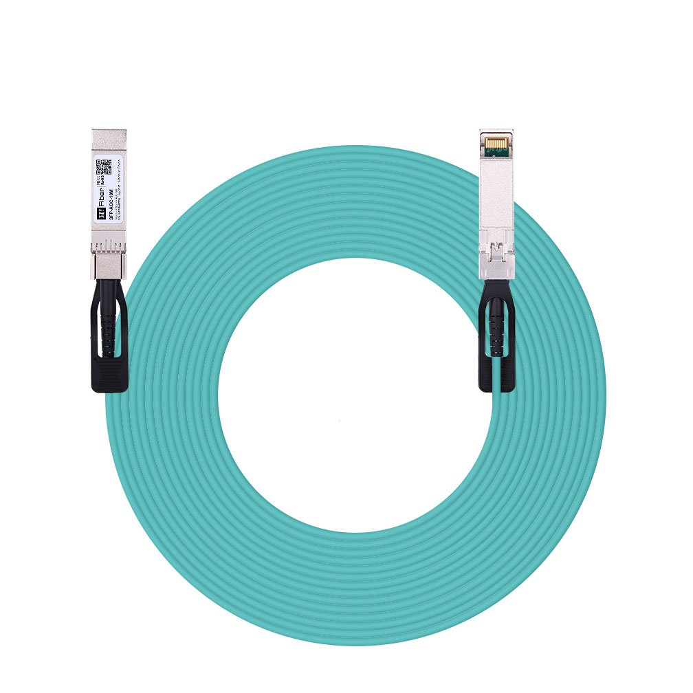 10m(33ft) 10G SFP+ to SFP+ AOC(Active Optical Cable), Customized