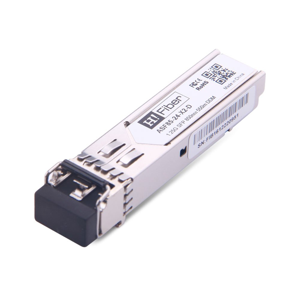Cisco GLC-SX-MMD Compatible 1000Base-SX SFP 850nm 550m DOM Transceiver Module for MMF