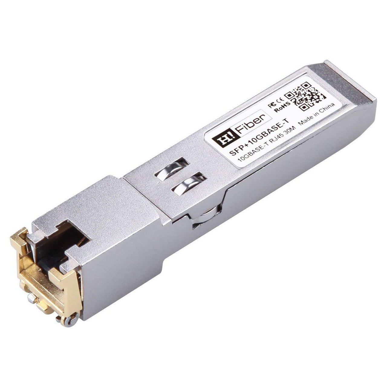 SFP+ Copper Transceiver 10GBase-T, Cat 6a/7, 30M