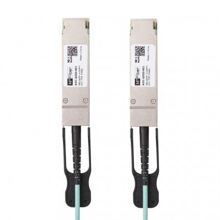 Mellanox MC220731V-003 Compatible 3m(10ft) 56G QSFP+ to QSFP+ AOC(Active Optical Cable), FDR