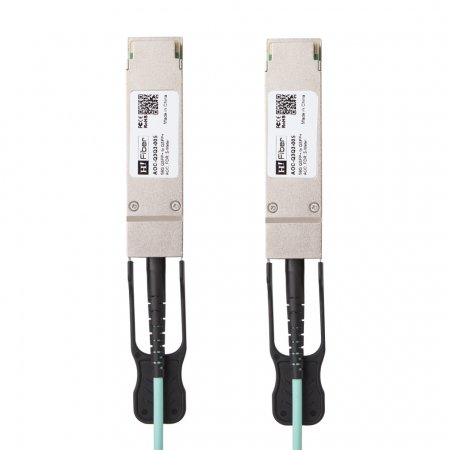 Brocade AOC-Q3Q3-005 Compatible 5m(16ft) 56G QSFP+ to QSFP+ AOC(Active Optical Cable), FDR