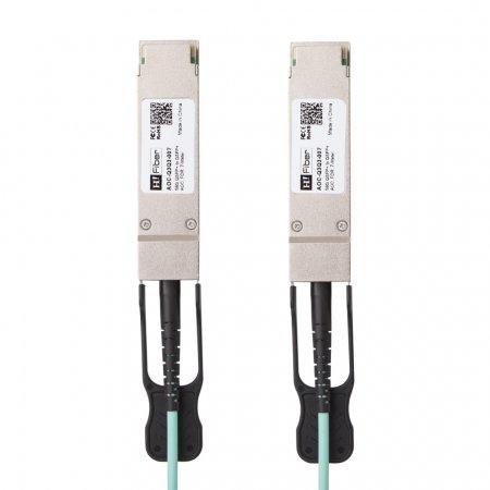 Brocade AOC-Q3Q3-007 Compatible 7m(23ft) 56G QSFP+ to QSFP+ AOC(Active Optical Cable), FDR