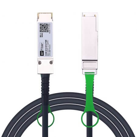 2m(7ft) 56G QSFP+ to QSFP+ Passive DAC Twinax Cable, 30AWG, FDR, Customized