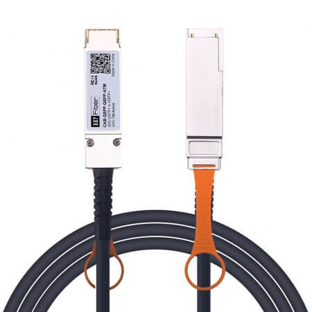7m(23ft) 40G QSFP+ to QSFP+ Active DAC Twinax Cable, 28AWG, Customized