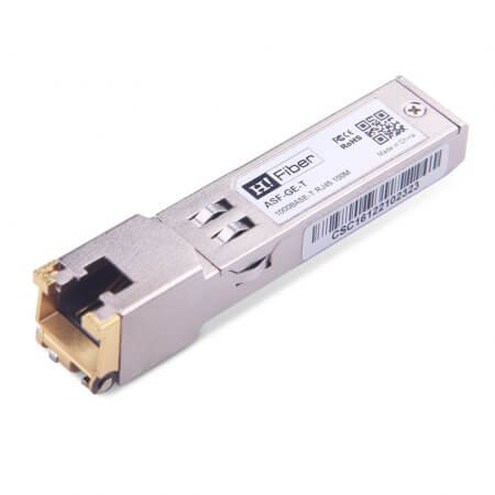 Cisco GLC-TA Compatible 10/100/1000BASE-T SFP  RJ45 CAT5e Transceiver Module