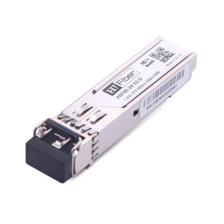 Cisco MGBSX1 Compatible 1000Base-SX SFP 850nm 550m DOM Transceiver Module for MMF