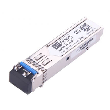 Cisco GLC-LX-SM-RGD Compatible 1000BASE-LX/LH SFP 1310nm 10km DOM Transceiver Module for MMF/SMF