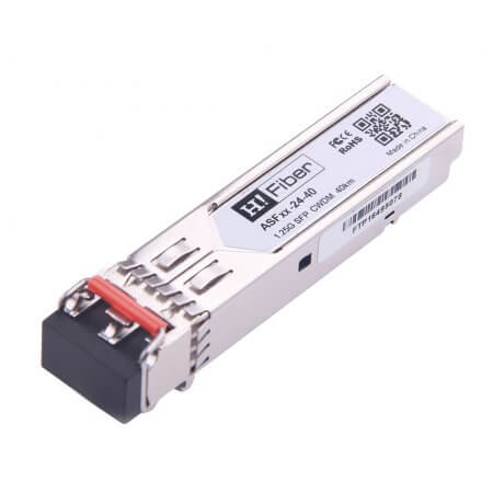 Cisco CWDM-SFP-1270 Compatible 1000BASE-EX SFP CWDM 1270nm 40km DOM Transceiver Module for SMF