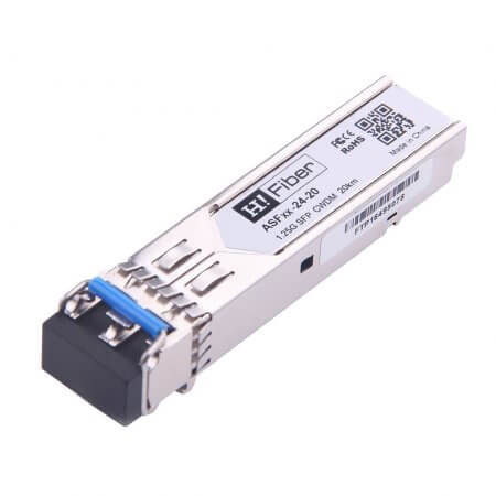 Cisco CWDM-SFP-1330 Compatible 1000BASE-LX SFP CWDM 1330nm 20km DOM Transceiver Module for SMF
