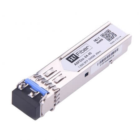 Cisco DWDM-SFP-5817 Compatible 1000Base-EX SFP DWDM CH24 40km DOM Transceiver Module for SMF