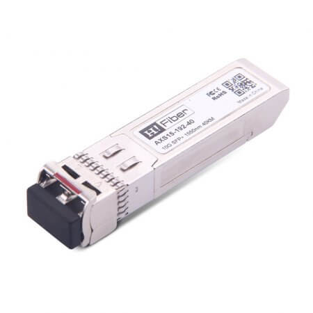 Cisco SFP-10G-ER-S Compatible 10GBASE-ER SFP+ 1550nm 40km DOM Transceiver Module for SMF