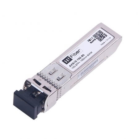 Cisco SFP-10G-ZR-S Compatible 10GBASE-ZR SFP+ 1550nm 80km DOM Transceiver Module for SMF
