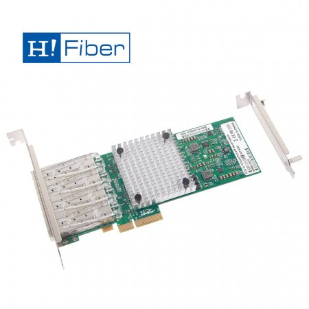1Gb/s Ethernet Network Adapter, compatible for Intel I340-F4