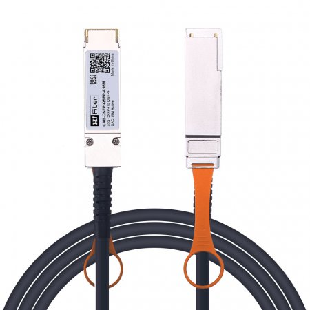 15m(49ft) 40G QSFP+ to QSFP+ Active DAC Twinax Cable, 24AWG, Customized