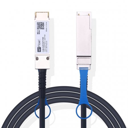 2m(7ft) 100G QSFP28 to QSFP28 Passive DAC Twinax Cable, 30AWG, EDR, Customized