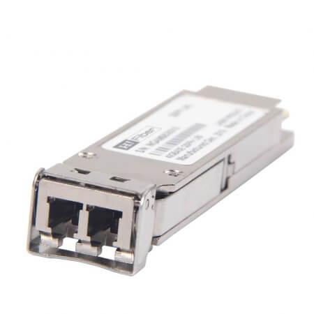 Juniper JNP-QSFP-40G-LR4 Compatible 40GBASE-LR4 QSFP+ LR4 1310nm 10km Transceiver Module for SMF