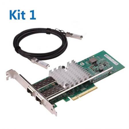 [WG-X520-DA2 CNA] + [SFP+ DAC] Kit1#