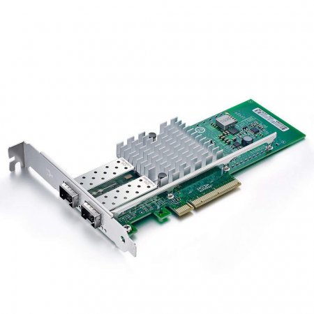 10Gb/s Ethernet Converged Network Adapter, Compatible for Intel X520-DA2