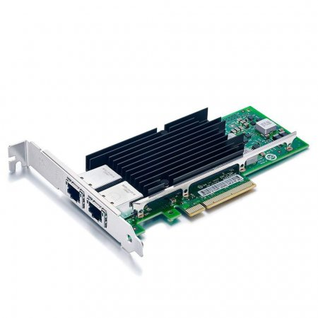 10Gb/s Converged Network Adapter (CNA)/NIC, Compatible Intel X540-T2