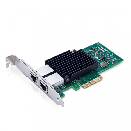 10Gb/s Converged Network Adapter (CNA)/NIC, Compatible Intel X550-T2