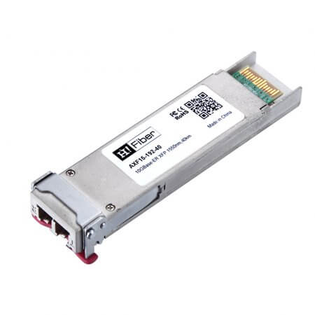 Cisco XFP10GER-192IR-L Compatible Multirate 10GBASE-ER/-EW and OC-192/STM-64 IR-2 XFP Module for SMF, low power (2.5W)