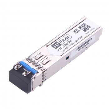 1000BASE-LX/LH SFP 1310nm 10km DOM MMF/SMF Transceiver Module Customized