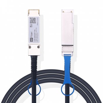 1m(3ft) 100G QSFP28 to QSFP28 Passive DAC Twinax Cable, 30AWG, EDR, Customized