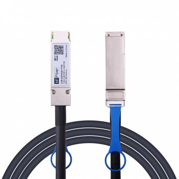 3m(10ft) 100G QSFP28 to QSFP28 Passive DAC Twinax Cable, 26AWG, EDR, Customized