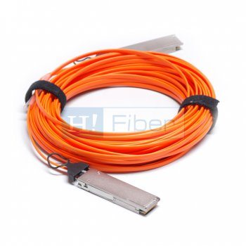 15m(49ft) 40G QSFP+ to QSFP+ AOC(Active Optical Cable), MMF, Customized