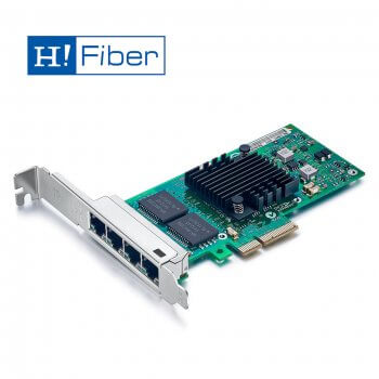1Gb/s Ethernet Converged Network Adapter (NIC), Compatible for I340-T4/ E1G44HT