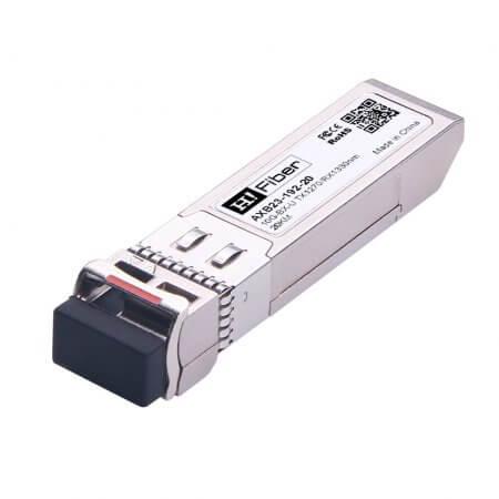Cisco SFP-10G-BX20U-I Compatible 10GBASE-BX20-U SFP+ BIDI Tx1270nm/Rx1330nm 20km DOM Transceiver Module for SMF