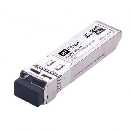 Cisco SFP-10G-BXD-I Compatible 10GBASE-BX10-D SFP+ BIDI Tx1330nm/Rx1270nm 10km DOM Transceiver Module for SMF
