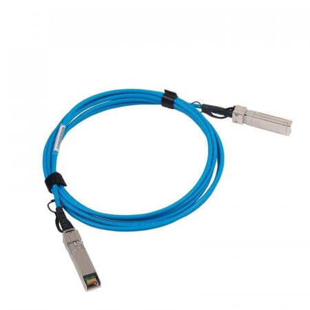 2m(7ft) 10G SFP+ to SFP+ Passive DAC Twinax Cable, Blue, 30AWG, Customized