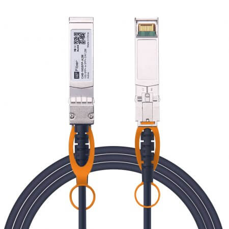 2m(7ft) 10G SFP+ to SFP+ Active DAC Twinax Cable, 30AWG, Customized